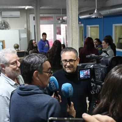 Entrevista de Ràdio Ciutat de Badalona