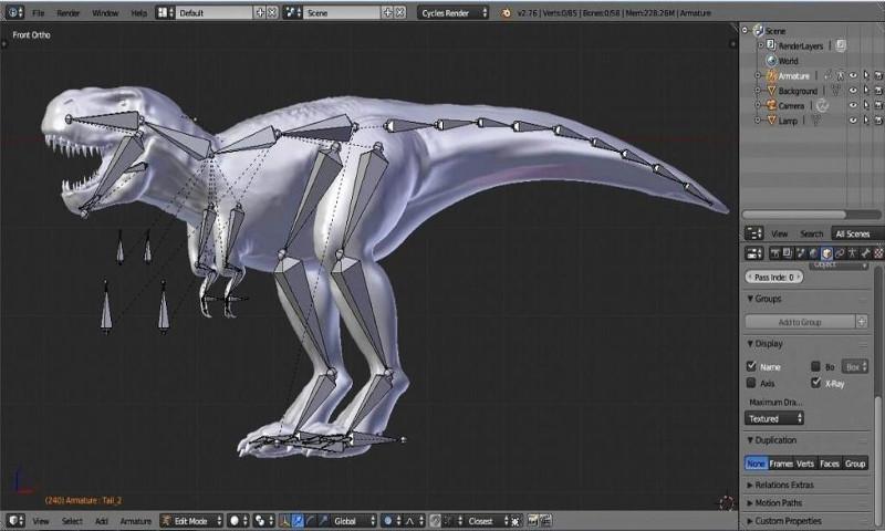 Curso de introducción al diseño 3D con Blender