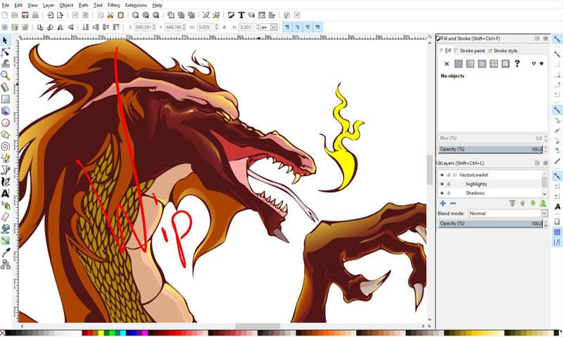 Curso de introducción al diseño vectorial con Inkscape